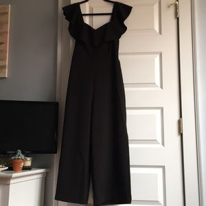 H&M Black Jump Suit Size 8